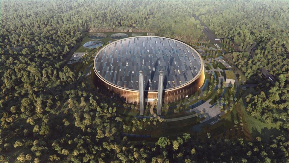 SHL - Shenzhen Waste to Energy Power Plant Visuals by © BATB