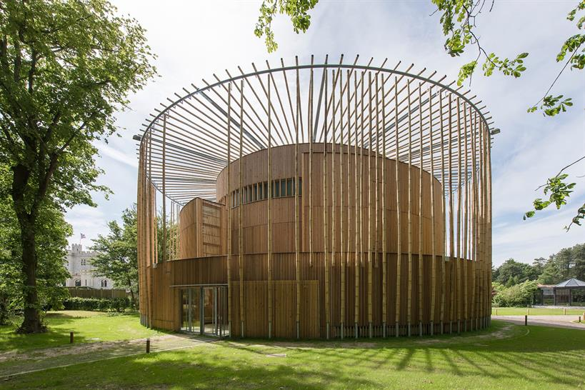"<a href=""https://backstage.worldarchitecturenews.com/wanawards/project/hardelot-elizabethan-theatre/"" target=""_blank"">Hardelot Elizabethan Theatre</a> by Studio Andrew Todd"