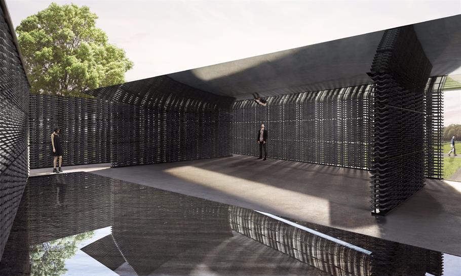 Serpentine Pavilion 2018, Frida Escobedo