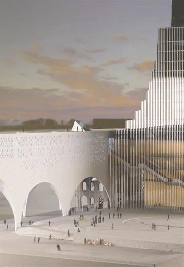 """<a href=""""https://backstage.worldarchitecturenews.com/wanawards/project/the-new-oslo-central-station/"""" target=""""_blank"""">The New Oslo Central Station project</a> by &copy; SPACEGROUP"""