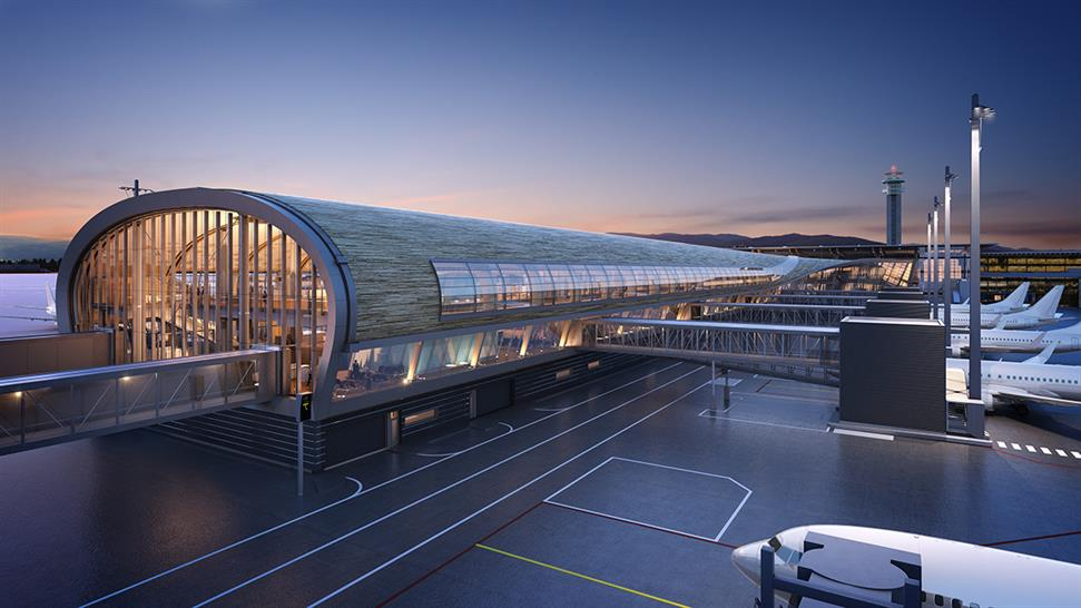 "<a href=""https://backstage.worldarchitecturenews.com/wanawards/project/oslo-airport/"" target=""_blank"">Oslo Airport</a> by &copy; Nordic - Office of Architecture assisted by NSW architects"