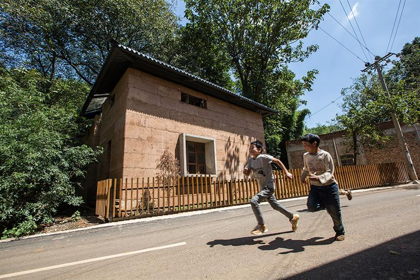 "<a href=""http://bit.ly/2CP1GUC"" target=""_blank"">Post-earthquake reconstruction demonstration project of Guangming Village</a> by &copy; The Chinese University of Hong Kong"