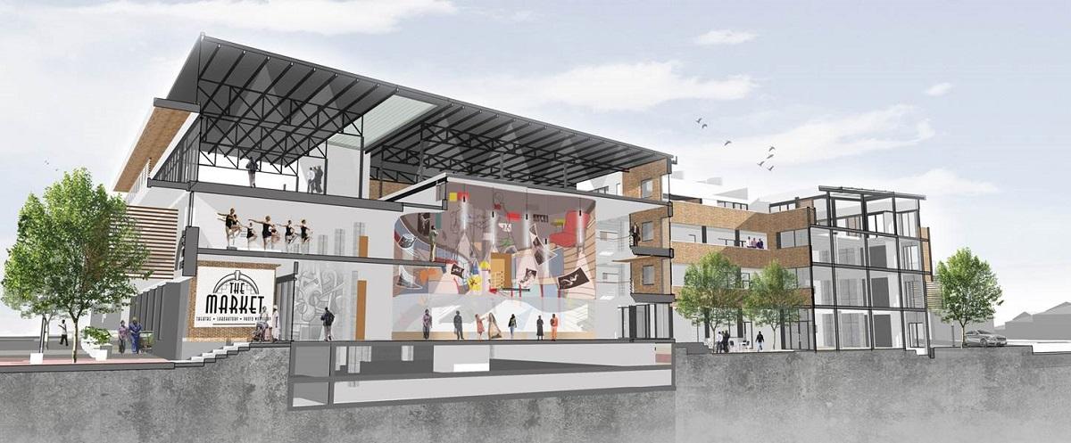 "<a href=""https://backstage.worldarchitecturenews.com/wanawards/project/the-market-theatre/"" target=""_blank"">The Market Theatre</a> by &copy; KMH Architects"