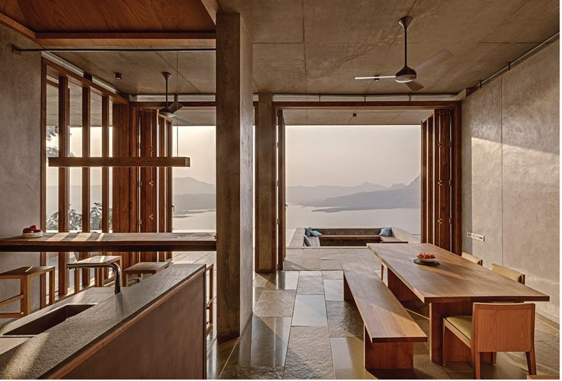 "<a href=""https://backstage.worldarchitecturenews.com/wanawards/project/retreat-in-the-sahyadris/"" target=""_blank"">Retreat in the Sahyadris</a> by Khosla Associates &copy; Shamanth Patil J."