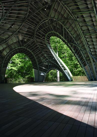 "<a href=""https://backstage.worldarchitecturenews.com/wanawards/project/the-chrysalis-amphitheater-new/"" target=""_blank"">The Chrysalis Amphitheater</a> by &copy; MARC FORNES / THEVERYMANY"