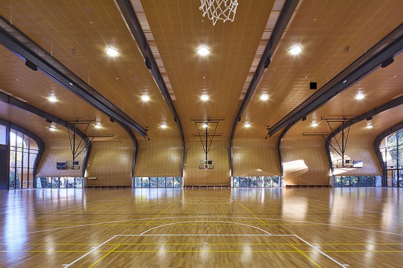 Sport in Architecture 2017 Winner: The Judith Poole Sports Hall by Allen Jack+Cottier © Tyrone Branigan