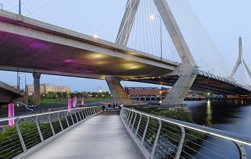Landscape 2017 winner: North Bank Bridge Park by CRJA-IBI Group © Chuck Choi