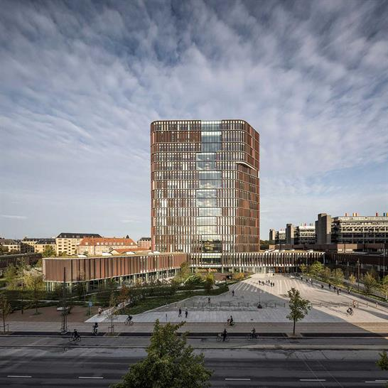 Maersk Tower extension of the Panum complex at the University of Copenhagen C.F. MØLLER ARCHITECTS