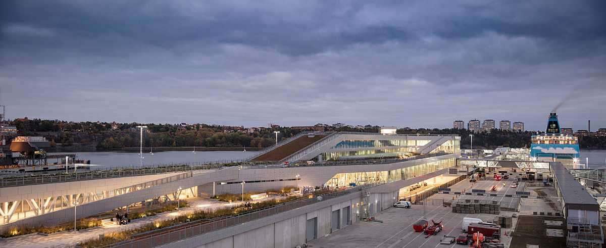 Vartaterminalen ferry terminal Stockholm C.F. MØLLER ARCHITECTS
