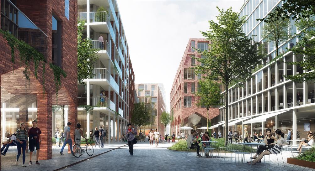 DSB, MT Højgaard and C.F. Møller Architects
