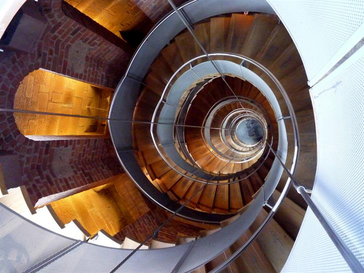 The Lighthouse stairs - by Chris