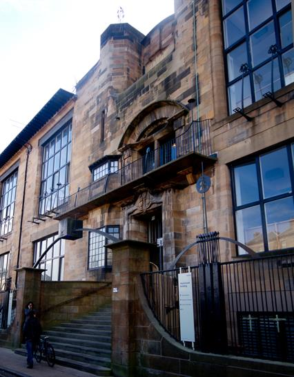 Glasgow School of Art - by London Road12