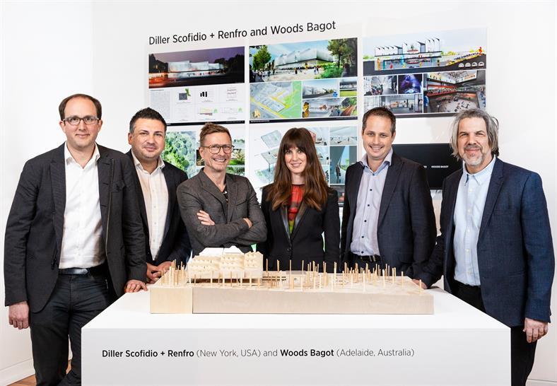 Diller Scofido + Renfro and Woods Bagot