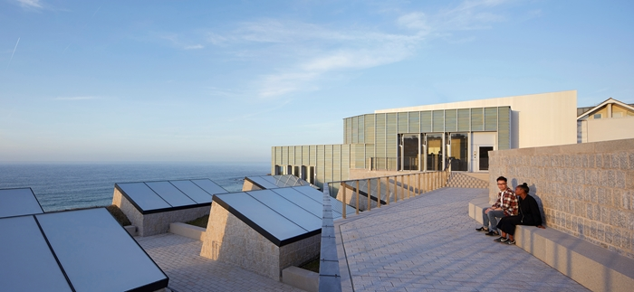 The new extension to the Tate St Ives by Jamie Fobert Architects with Evans & Shalev © Hufton&Crow
