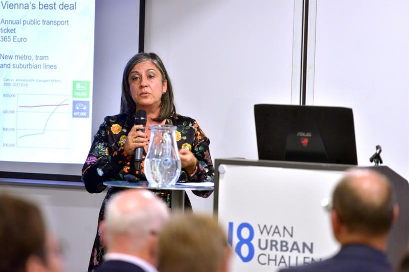 Maria Vassilakou, Deputy Mayor, Vienna