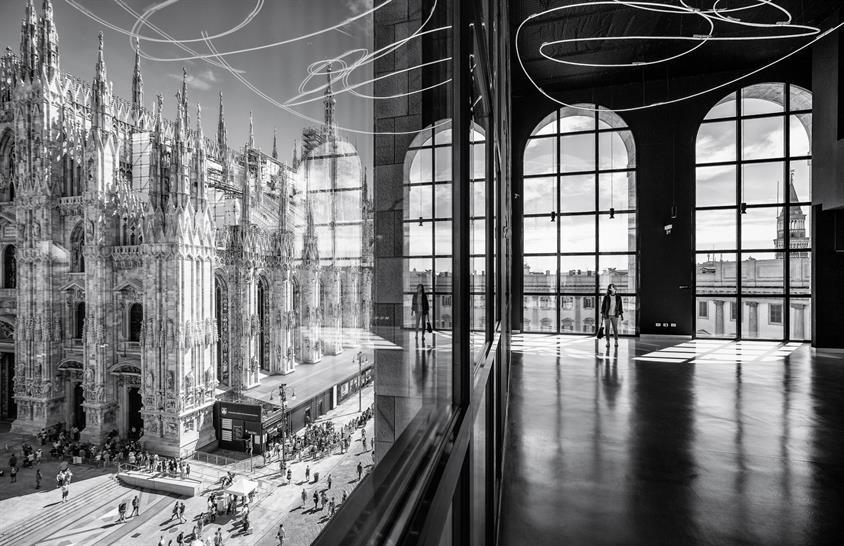 The Piazza Duomo, Milan, by Marco Tagliarino
