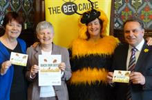 Third Sector Awards 2014: Charity Partnership - Winner: National Federation of Women's Institutes with Friends of the Earth