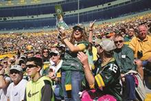 Associated Bank's Touchdown Central scores big with Green Bay Packers fans