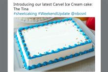 Carvel: Our #Sheetcaking tweet was a nod to Tina Fey, not her message