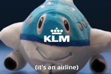 KLM wants Americans to know it's an airline, not a radio station