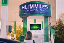 BP lures millennials with Miles, the talking, funny, selfie-taking gas pump