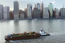 Strongbow brings floating apple orchard to the Big Apple