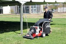 Blowers, Vacs and Sweepers: pedestrian and tractor-mounted kit