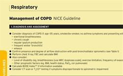 COPD: Management in Adults (NICE)