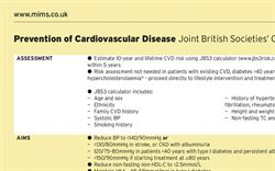 Prevention of Cardiovascular Disease (Joint British Societies' Guideline)