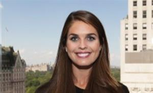 5 things to know about interim White House communications director Hope Hicks