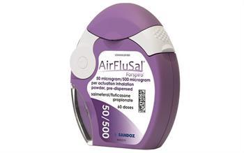 Salmeterol/fluticasone dry powder inhaler approved for asthma