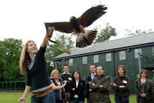 Delegates enjoy outdoor pursuits