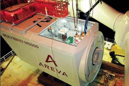 Areva's 5MW Multibrid 5000 (M5000)