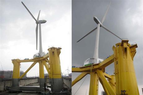 Fukushima floating turbine starts operating
