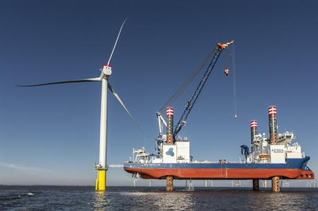 Flagship… The purpose-built Sea Installer has been a pioneering vessel for the sector (pic: A2Sea)