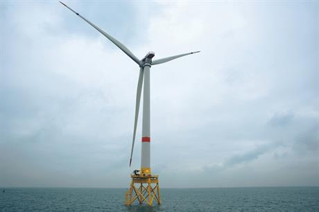 Alstom's 6MW Haliade turbine will be used at the Merkur Offshore project