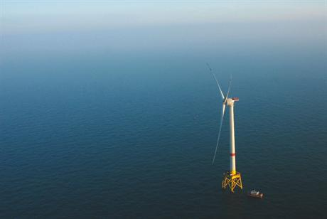 The project will be made up of two Alstom Haliade turbines