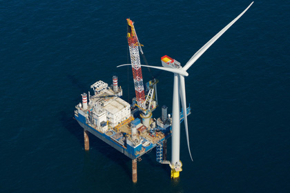 The commissioning of Dong's Anholt project helped increase energy production