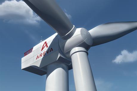 The project will use the Areva 8MW turbine