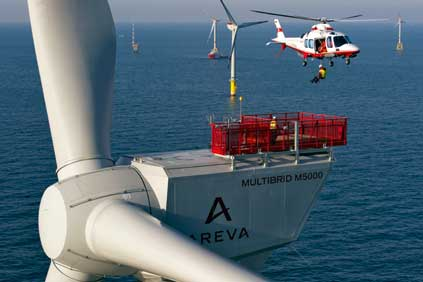 Areva is confident that it will still supply the turbines for the project
