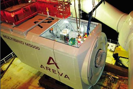 Wikinger is likely to use Areva M5000 turbines