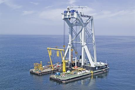 Ballast Nedam's Svanen vessel is included in the sale