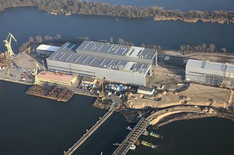 Bilfinger's Polish facility currently under development in Szczecin