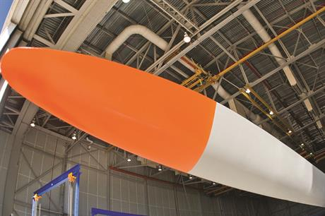 Blade Dynamics is developing a blade tip that can be fitted to standard offshore blades