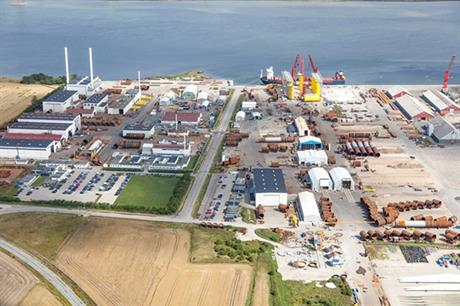 Bladt has previously manufactured 13 offshore substations (Source: Bladt Industries A/S)