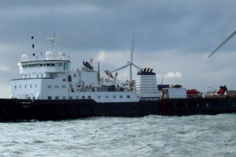 CT Offshore's SIA vessel carried out the cable installation