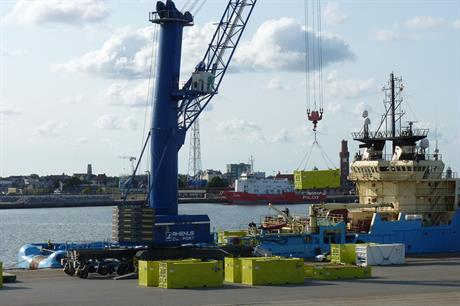 Cuxport will support Siemens' offshore substations