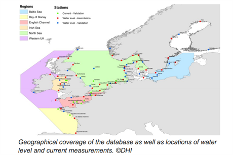 DHI has gathered data from across northern european seas (Pic: DHI Group)