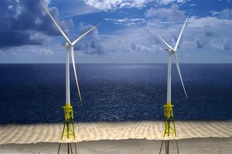 Dominion Virginia Power would use two Alstom Haliade 6MW turbines at VOWTAP