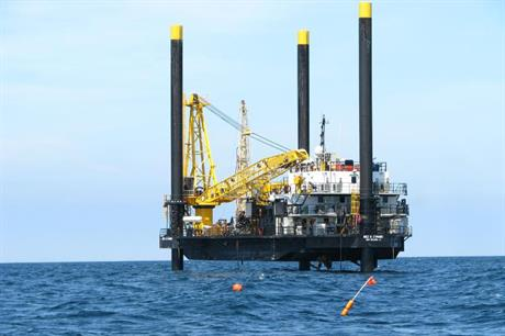 The jack-up vessel will conduct tests at the proposed 12MW demonstration site